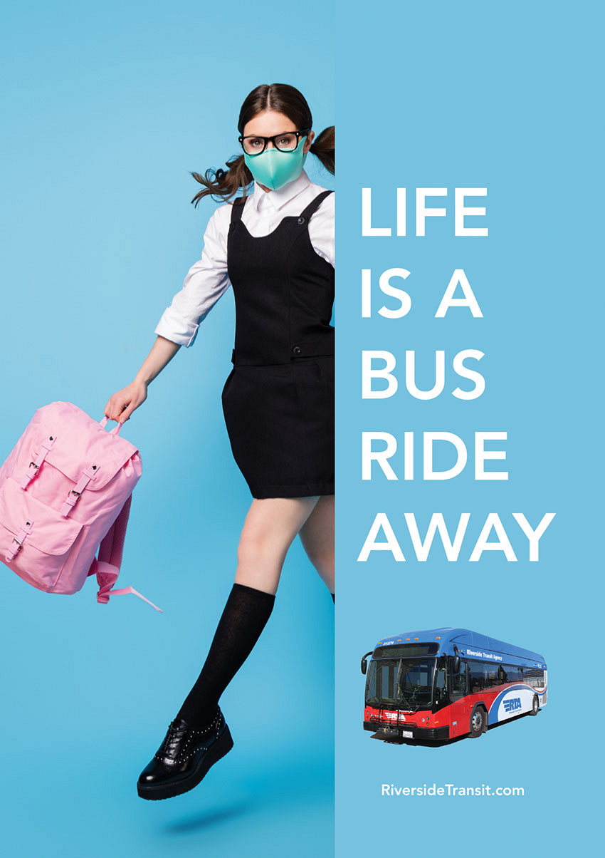 Life Is A Bus Ride Away Shelter Posters (2021)